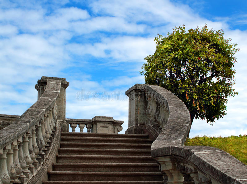 Download Stairway to Heaven stock image. Image of blue, hope, architecture - 25498055