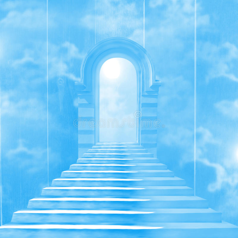 Download The stairway to heaven stock illustration. Image of cloud - 27353884