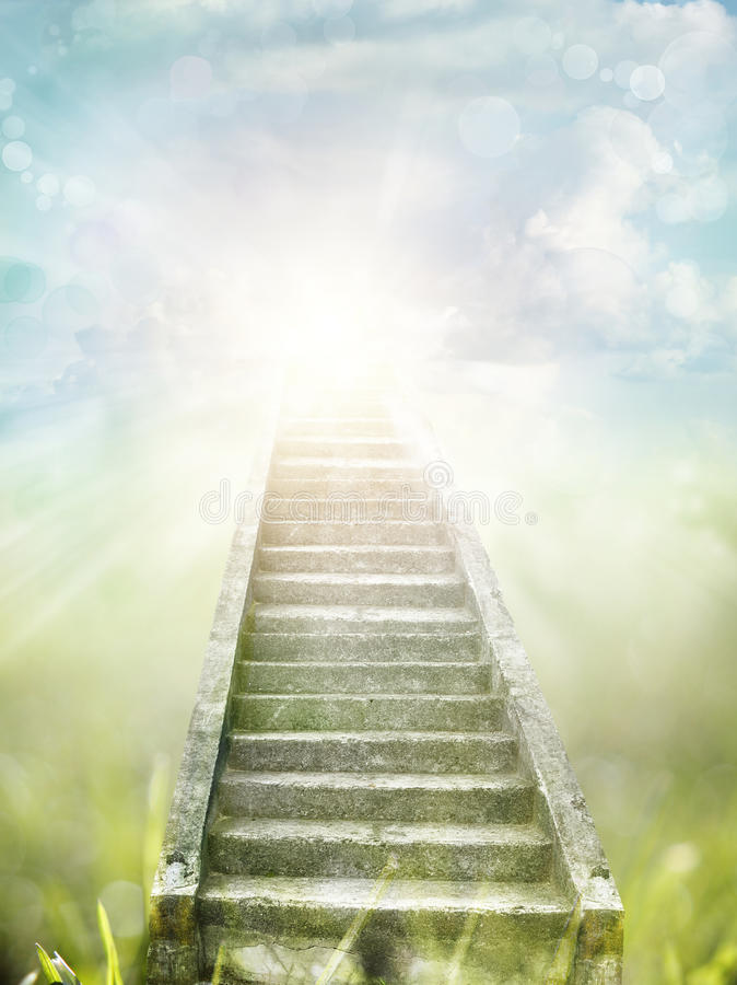 Free Stairway To Heaven Royalty Free Stock Image - 48998766
