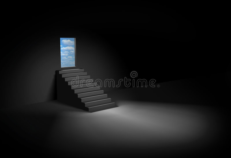 Download Stairway to heaven stock illustration. Image of output - 8139901