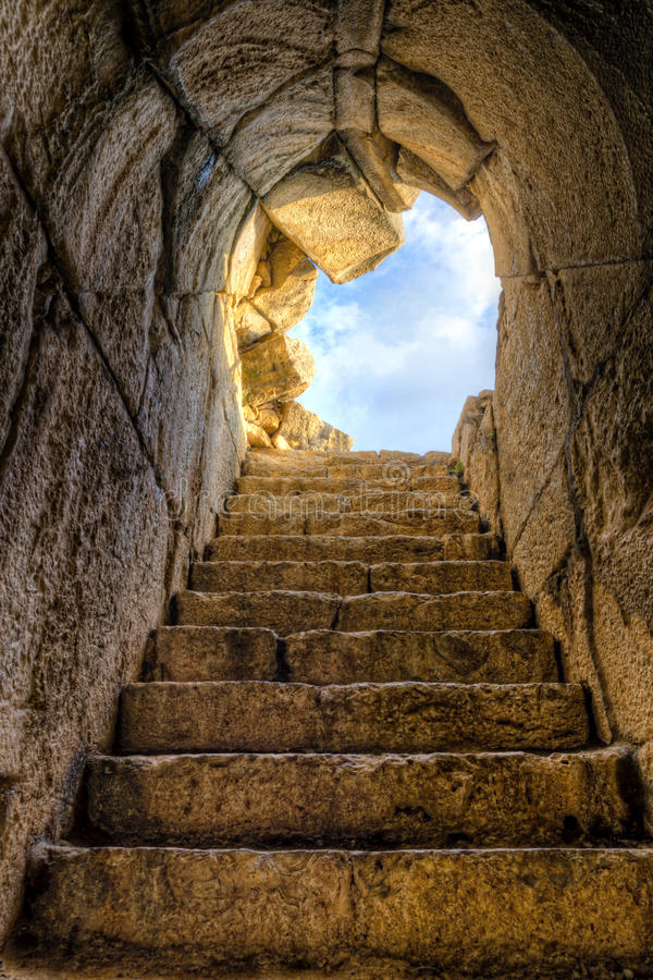 Stairway to heaven stock photography
