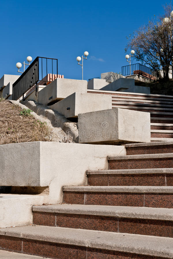 Stairway to Independece Monument, Tulcea