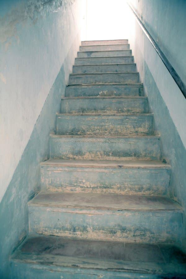 Stairway to light, metaphor to heaven royalty free stock photos