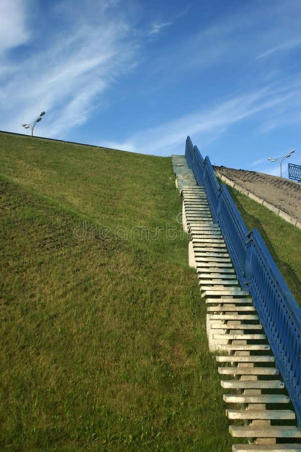 Download Stairway To Road Royalty Free Stock Photography - Image: 7221147