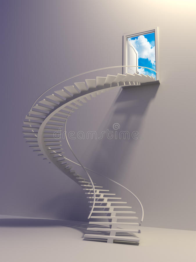 Download Stairway To The Sky Stock Image - Image: 10634121