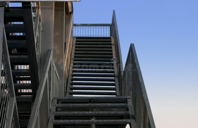 Stairway To The Sky. Stock Photos