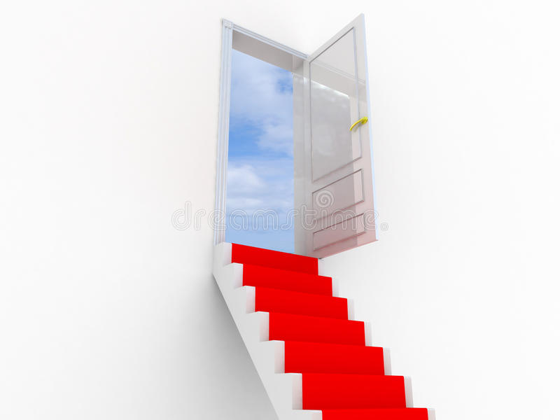 Stairway To The Sky. Royalty Free Stock Image