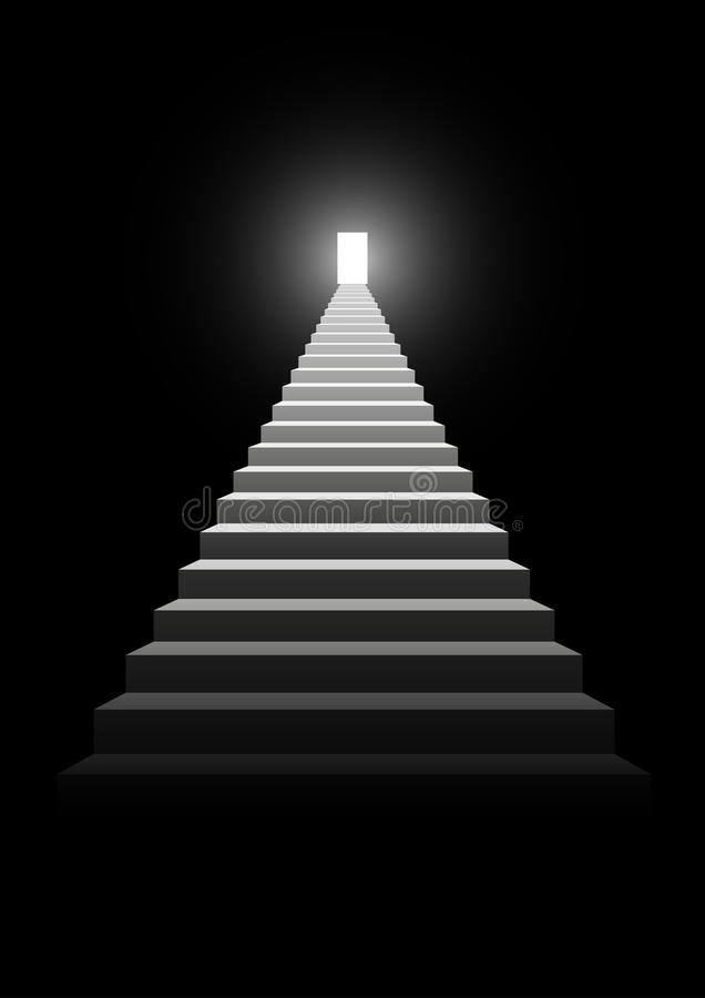 Stairway To Success royalty free illustration