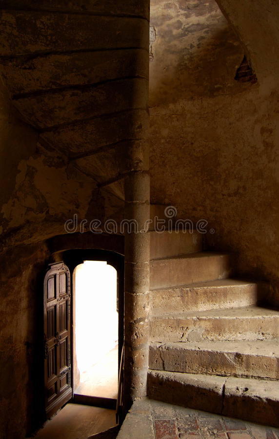 Download Stairway to unknown stock image. Image of take, castle - 12154009