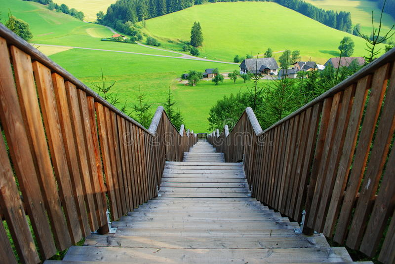 Stairways. Royalty Free Stock Image