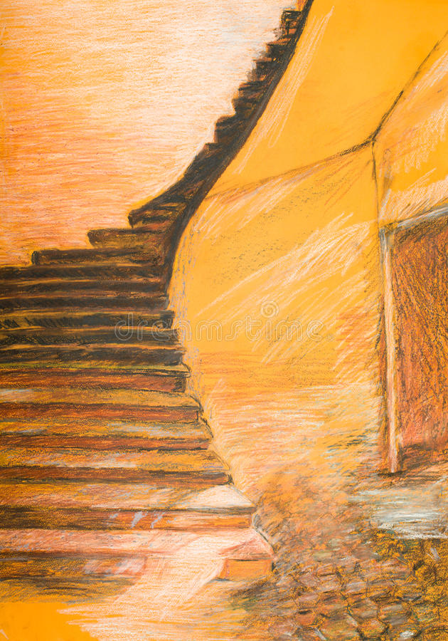 Free Stairways Going Up Royalty Free Stock Images - 34490249