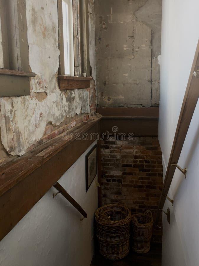 Stairwell κόσμιο στοκ εικόνα