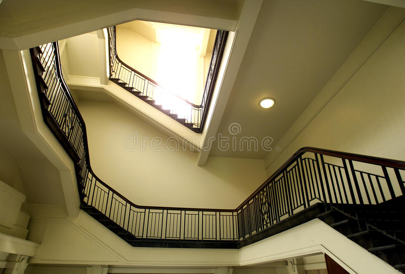 Download Stairwell stock photo. Image of interior, repetition - 18617732