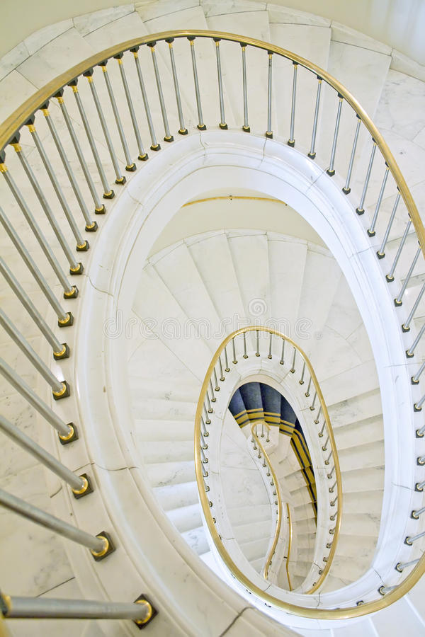 Download Stairwell In The Polish Palace. Stock Photo - Image of handrail, residence: 12747062