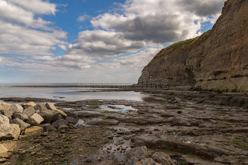 Staithes, North Yorkshire, UK stock photography