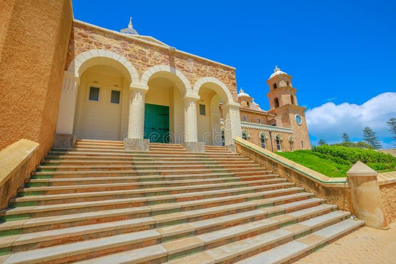 Staiway van Geraldton-Kathedraal royalty-vrije stock foto