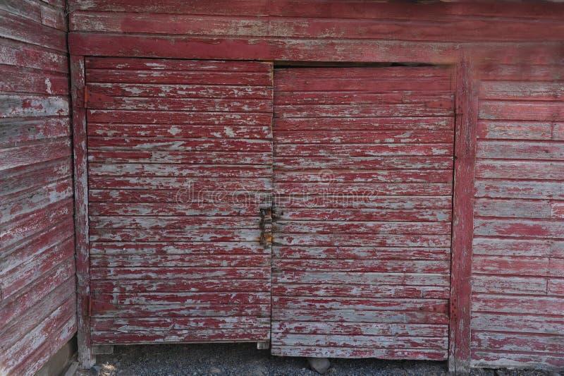 Stajni drzwi 2 obrazy stock
