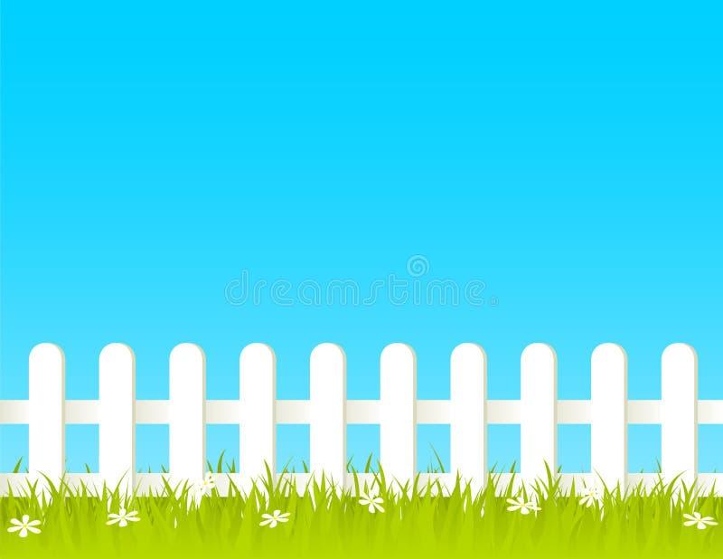 staket stock illustrationer