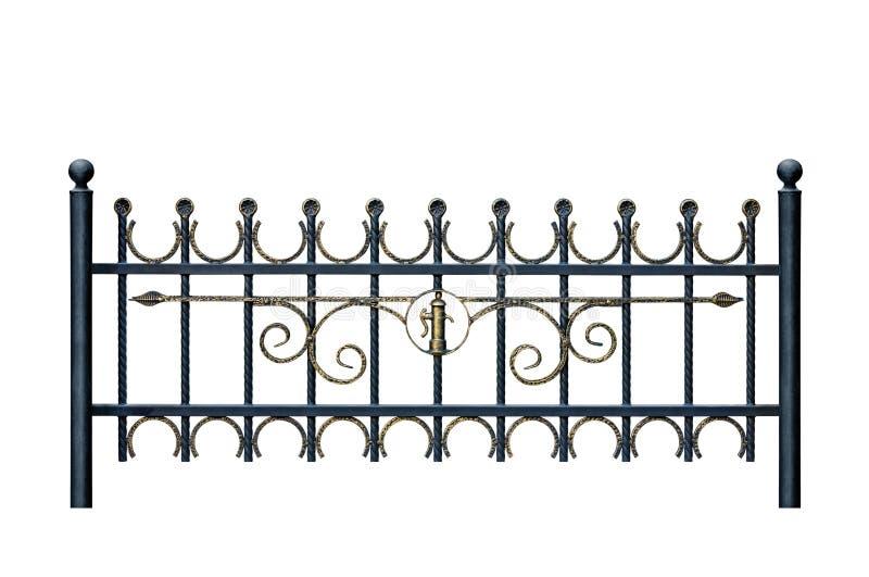 staket 7 royaltyfri illustrationer