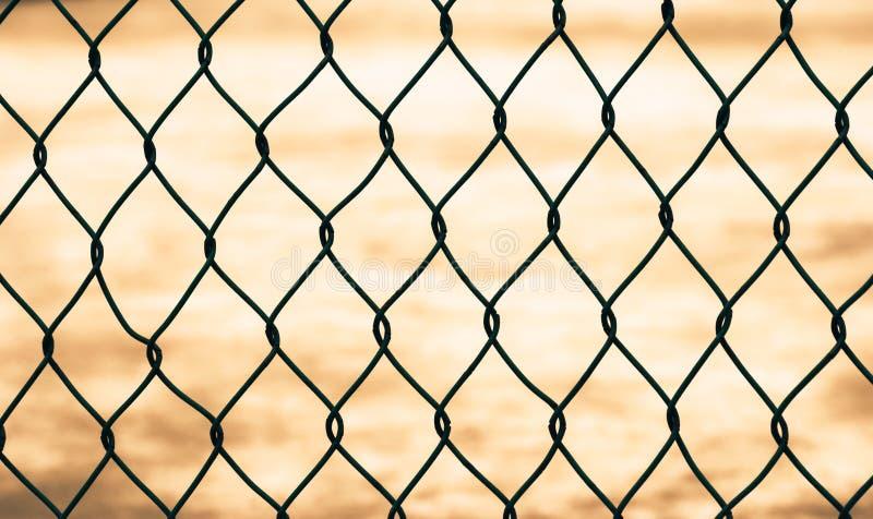 staket isolerat ingrepp royaltyfri foto