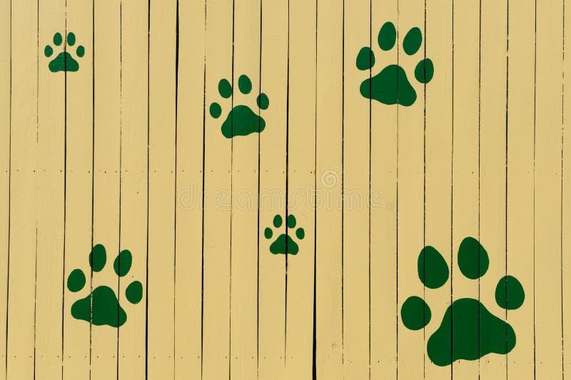 staket tafsar tryckyellow royaltyfri fotografi