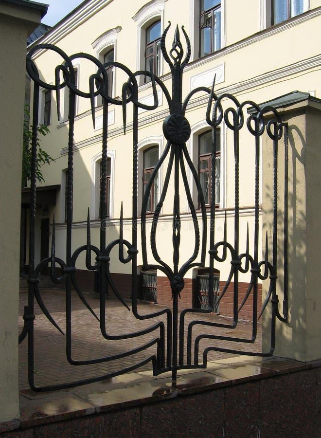 staketjärn royaltyfri foto