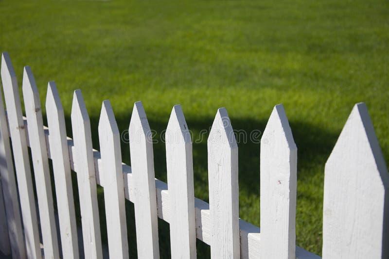 staketposteringwhite arkivfoton