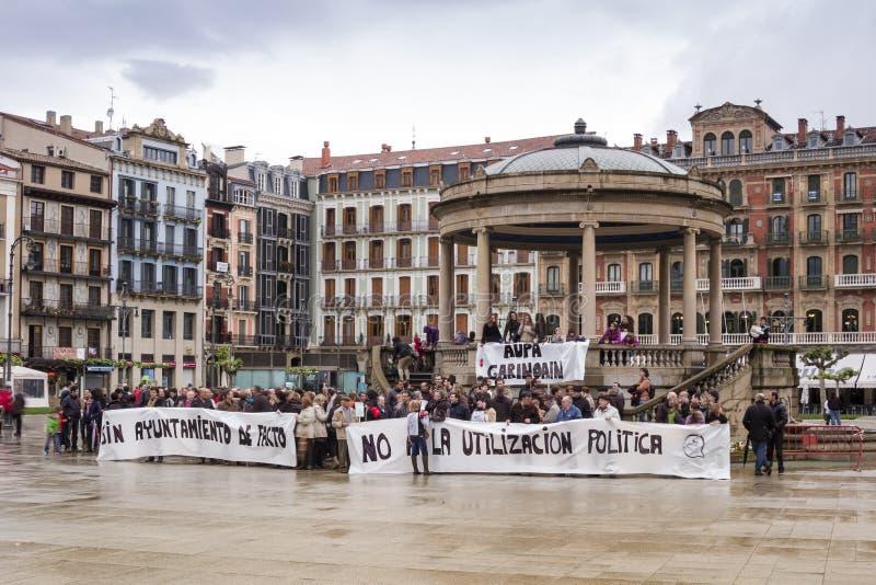 Staking in Spanje royalty-vrije stock foto