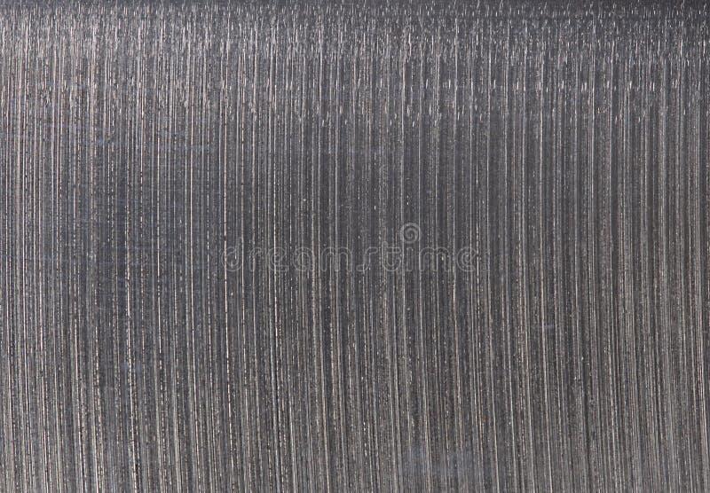 Stal, metal Polędwicowej Nożowej tekstury Makro- tło obrazy royalty free