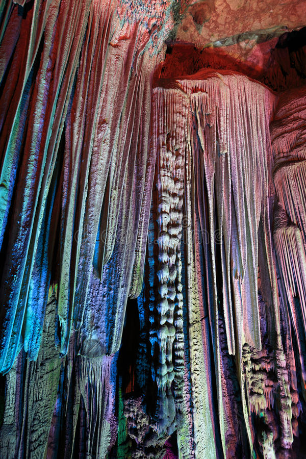 Download Stalactites In The Silver Cave Stock Photo - Image of geology, beauty: 24845402