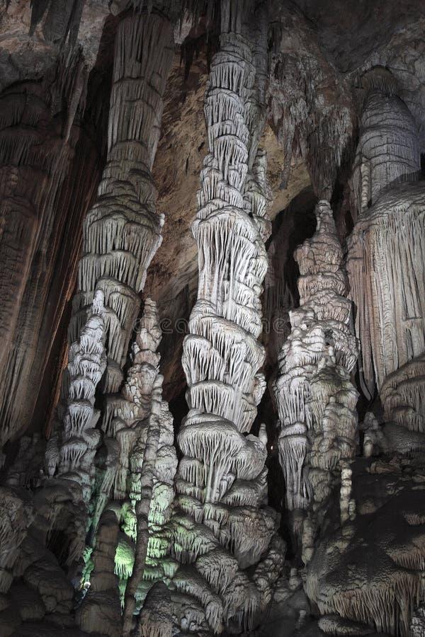 stalactitetunnelbana royaltyfri fotografi