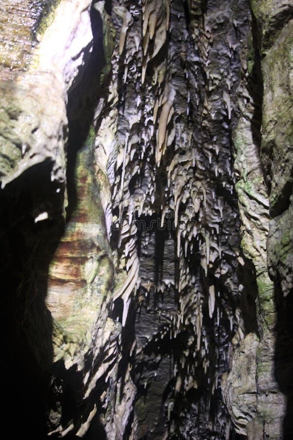 Stalaktithöhle stockfotografie