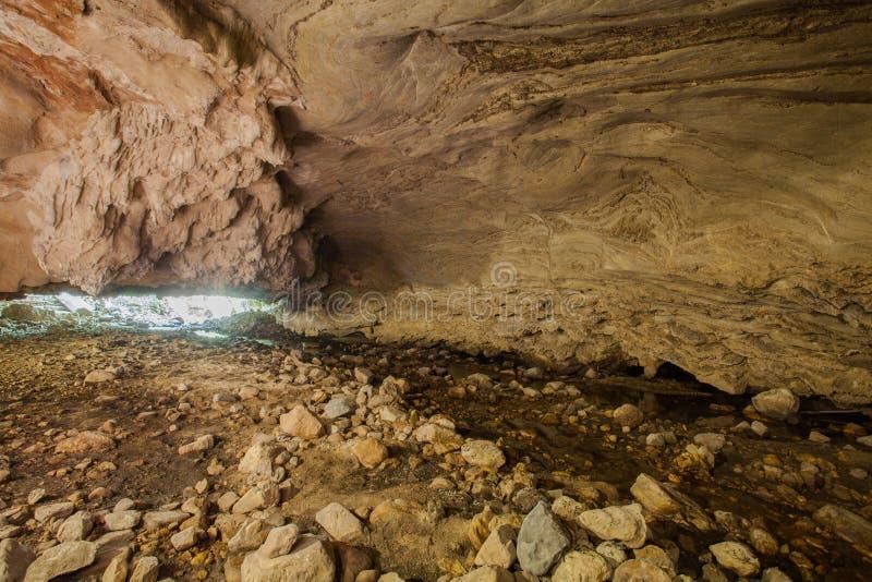 Stalaktitstalaktitform schön innerhalb der Höhle lizenzfreie stockfotos