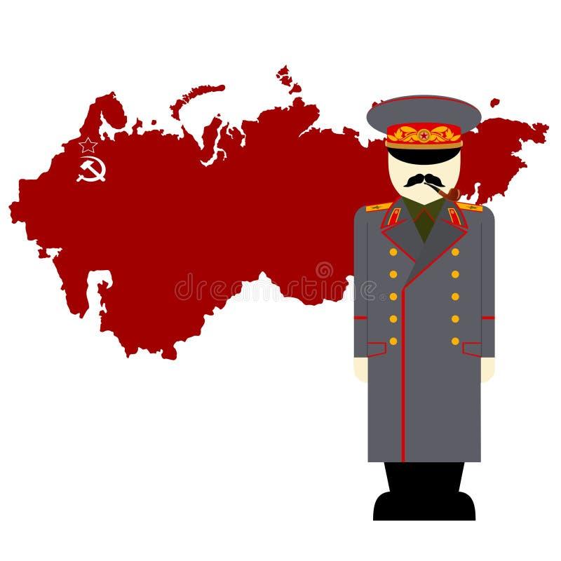 stalin illustration stock