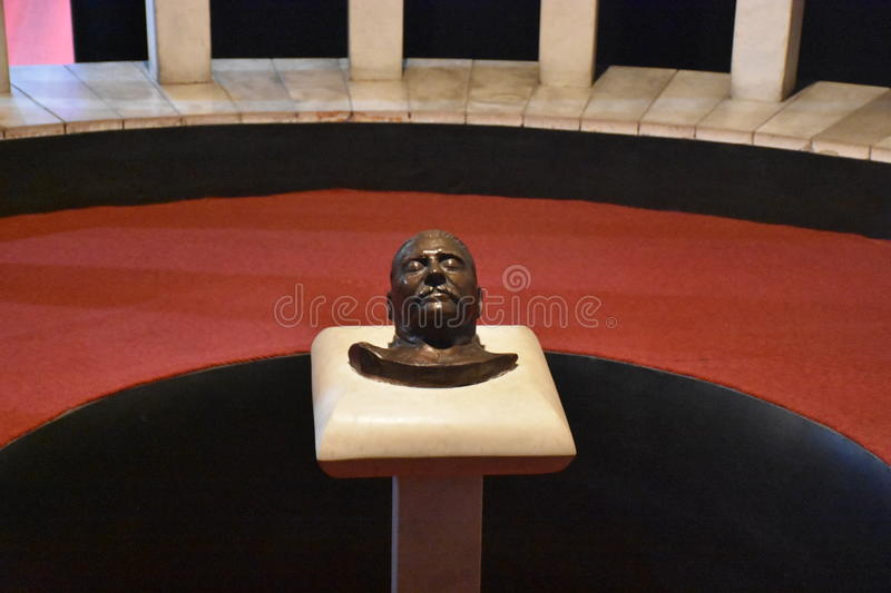Stalin Death Mask royalty free stock image