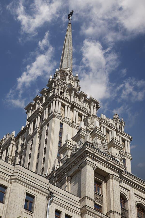 Stalin& x27; edificio del estilo del imperio de s imagen de archivo