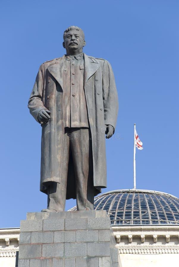 Stalin statue royalty free stock photos