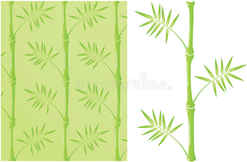 Download Stalk of bamboo stock vector. Illustration of asian, color - 23147056