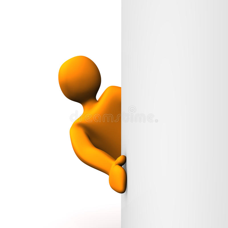 Download Stalker 2 stock illustration. Image of woman, orange - 27426582