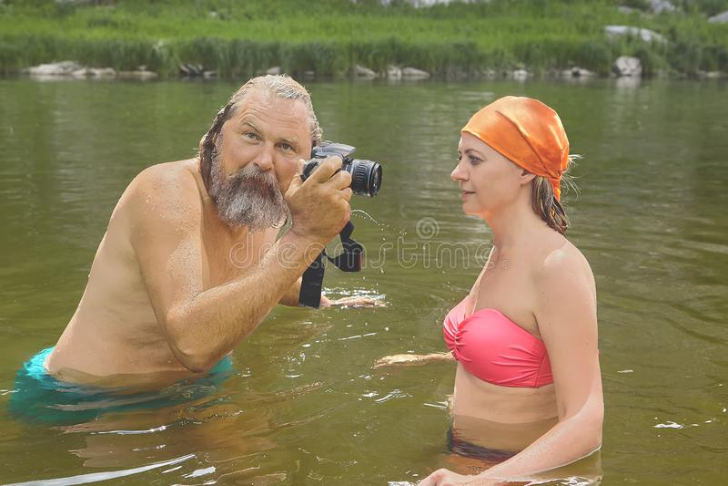 Amateur Wife Beach Voyeur