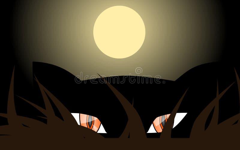 Download Stalking panther stock illustration. Image of expression - 31788928