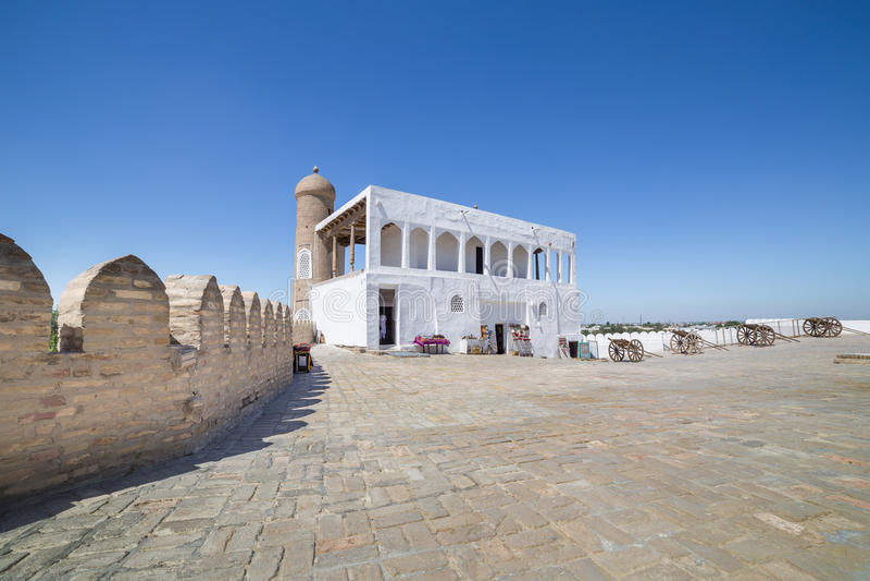 Stall der Archefestung von Bukhara, Usbekistan lizenzfreie stockfotografie