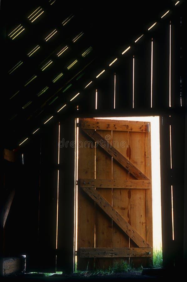 Stall-Tür stockbilder