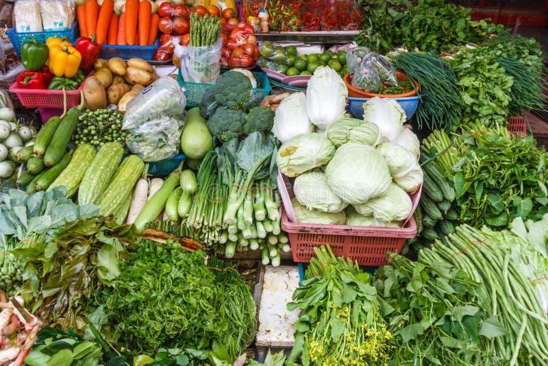 Stalla della verdura e della frutta immagini stock