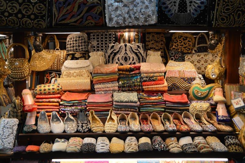 Stalla Dubai del mercato immagine stock