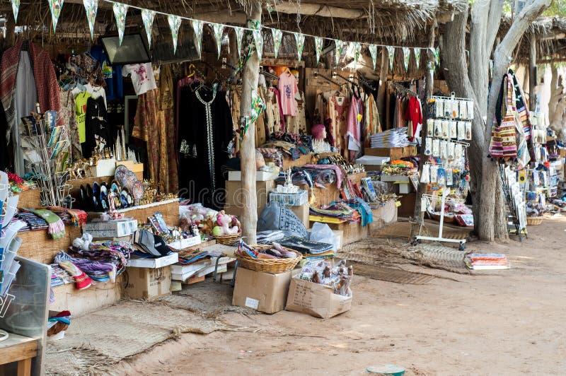 Stalla turistica, villaggio di eredità, Abu Dhabi immagini stock