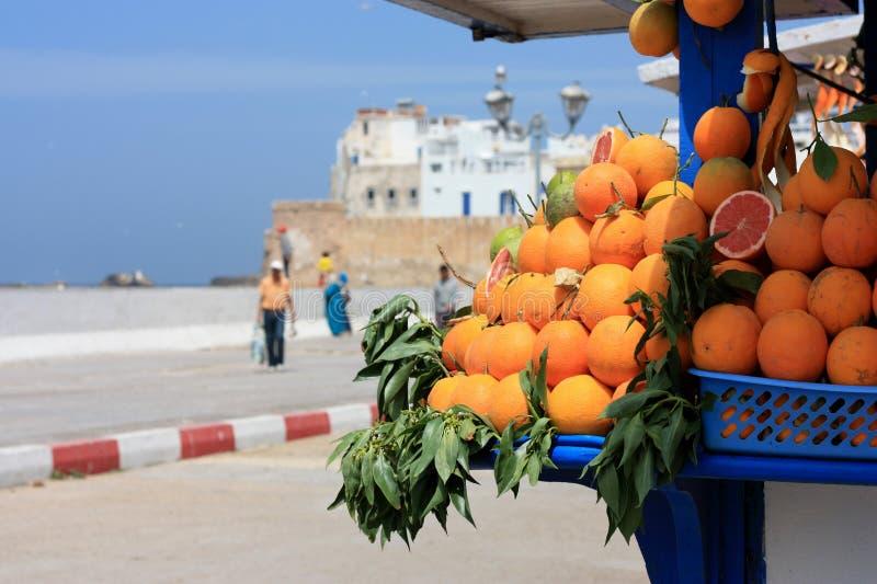 Stalle orange images libres de droits