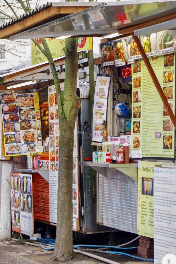 Stalles de nourriture, Portland, Orégon, Etats-Unis photos libres de droits