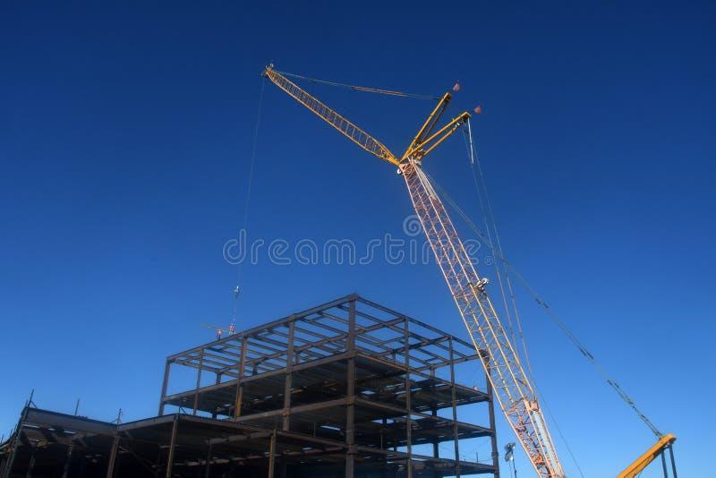 Stalowa budowa zdjęcie royalty free