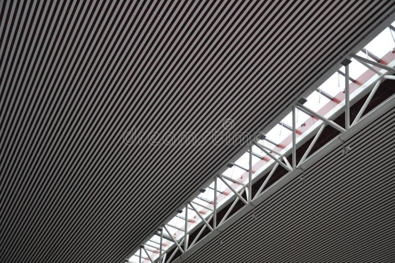 Stalowa struktura stropuje 2 obrazy stock